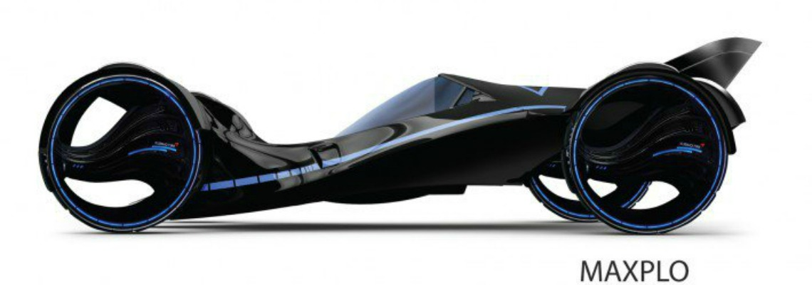 El neumático Maxplo es recompensado por su diseño futurista