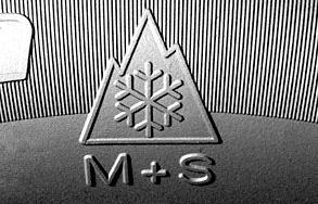 Símbolo montaña M+S