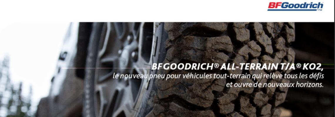 BFGoodrich® All-terrain T/A® KO2: el nuevo neumático todoterreno de Michelin