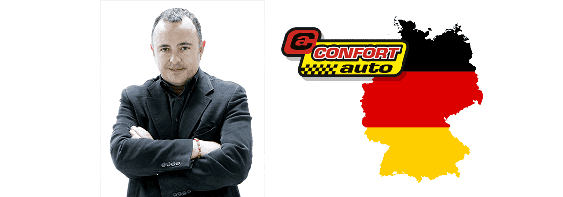 Lanzamiento de Confortauto.de, entrevista a Joaquín Pérez