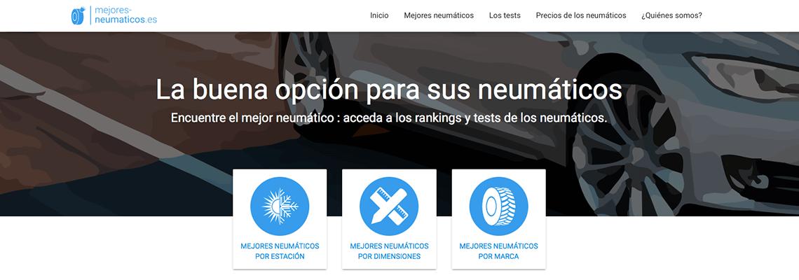 Mejores-neumaticos.es: ¡la buena opción para sus neumáticos!